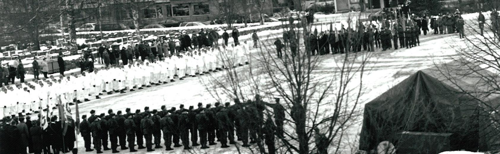 Uudenmaan 38. maanpuolustuspäivä Karkkilassa
